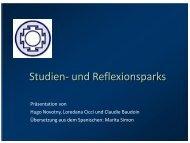 Die Studien- und Reflexionsparks - Parc La Belle Idée