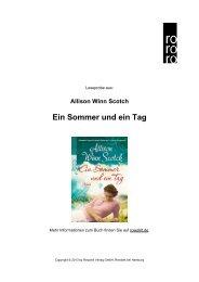 Ein Sommer und ein Tag - Rowohlt Theaterverlag