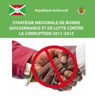 Stratégie Nationale de Bonne Gouvernance et de Lutte contre la ...