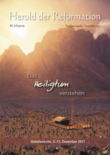 Gebetslesung Dez. 2011 - Gemeinschaft der Siebenten-Tags ...