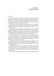 Irrfahrten Wolfgang Woess - Mathematics at Graz University of ...