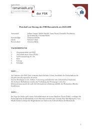 Protokoll vom 24.02.2010