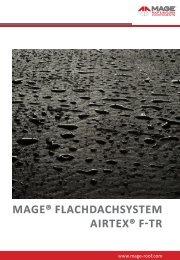 mage® flachdachsystem airtex® f-tr - MAGE Herzberg GmbH
