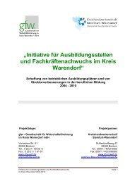 """""""Initiative für Ausbildungsstellen und Fachkräftenachwuchs im Kreis ..."""