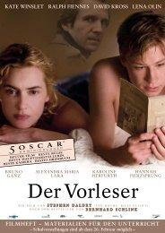 Der Vorleser Filmheft - DIDAPODCAST.TV