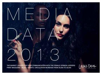 Ladies Drive Media Kit 2013