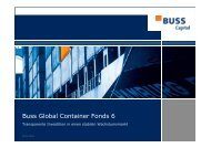 Buss Global Container Fonds 6
