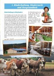 Bericht2012-Teil1 - Rinderzuchtverband Oberfranken e.V.