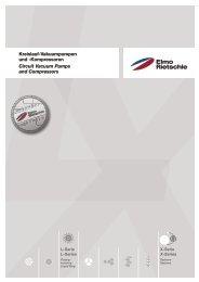 Kreislauf-Vakuumpumpen und -Kompressoren ... - Elmo Rietschle