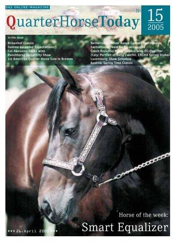 QHT - Czech Quarter Horse Association