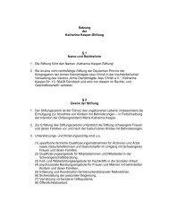 Laden Sie hier die Satzung als PDF herunter - Katharina Kasper ...