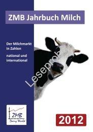 ZMB Jahrbuch Milch 2012 - Milk.de