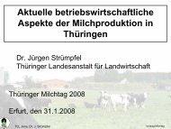 Aktuelle betriebswirtschaftliche Aspekte der Milchproduktion in ...