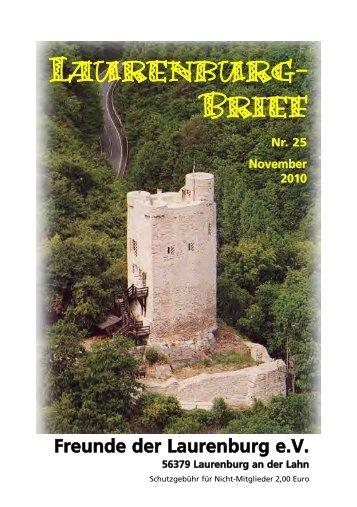 Brief 25.qxd (Page 1) - Heimatverein Laurenburg