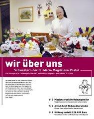 Schwestern der hl. Maria Magdalena Postel - Kontinente