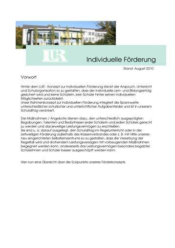 Konzept zur individuellen Förderung (.pdf-Dokument)