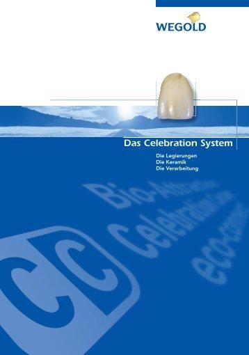 Informationen und Details finden Sie in der Celebration ... - Wegold