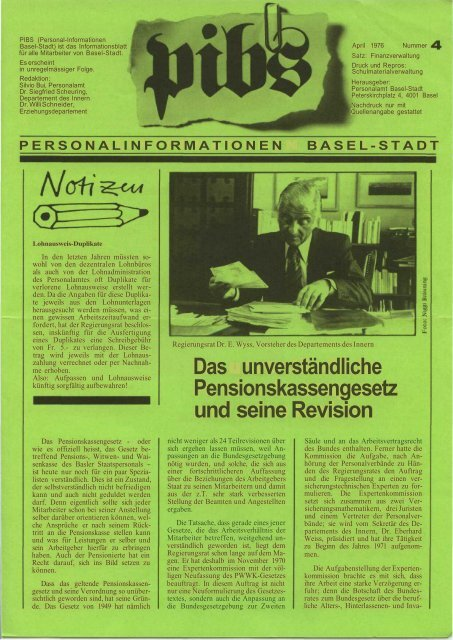 Nr. 004 - Regierungsrat - Basel-Stadt