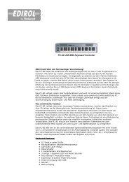 PC-80 USB MIDI Keyboard Controller - describe mediastore