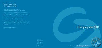 PDF Flyer Jahresprogramm 2013 - Insieme Luzern
