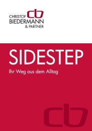 Ihr Weg aus dem Alltag - Christof Biedermann & Partner
