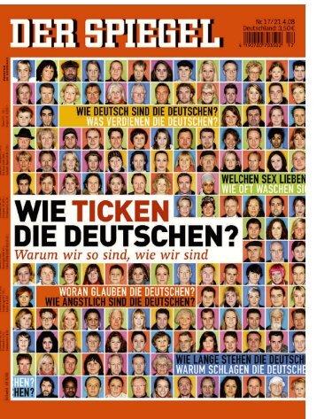Leseprobe zum Titel: DER SPIEGEL Nr. 17/2008 - Die Onleihe