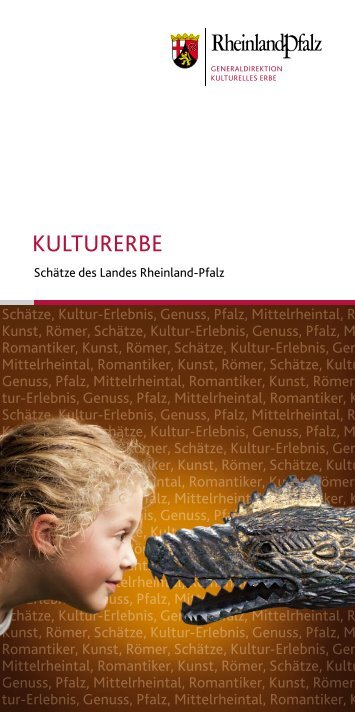 Neue Kulturbroschüre - Romantic Cities