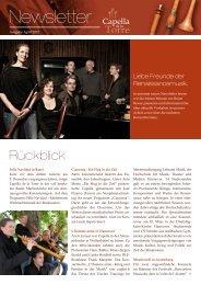 Newsletter März 2012 als PDF - Capella de la Torre