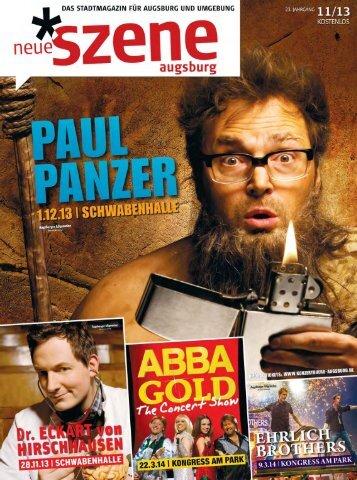 Stadtmagazin Neue Szene Augsburg 2013-11