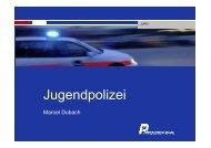 Referat Marcel Dubach, Chef Jugendpolizei Kanton Solothurn