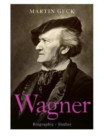 Leseprobe zum Titel: Wagner - Die Onleihe