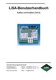 Teil A - komponenten für Aufzüge - Schneider Steuerungstechnik ...