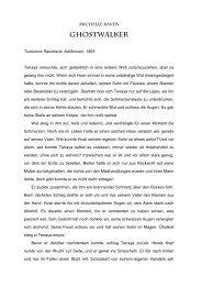 Ghostwalker - Kurzgeschichte - Michelle Raven
