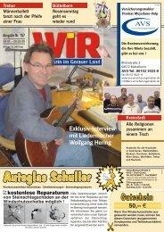 NÛZ UMPZ 4MJMV[Y]ITQ\Ã - Das WIR-Magazin im Gerauer Land