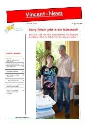 Vincent-News hier lesen! - KJF Regensburg