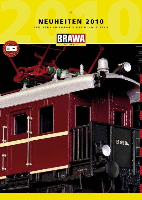 Brawa Bahn Neuheiten Katalog 2020 Lok-Modelle /& Wagen für Spur H0 1:87 und N