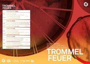 Trommelfeuer Gong Festival - Gong Aarau