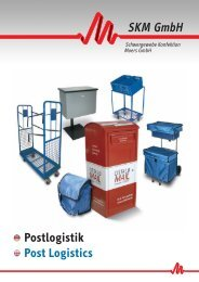 Download Katalog Postlogistik - SKM GmbH