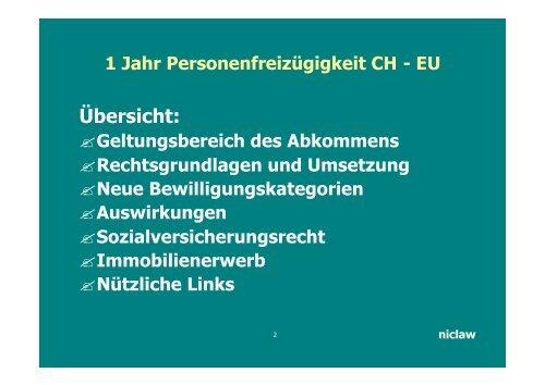 PDF CH-EU Abkommen 84kb - niclaw