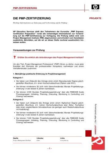 PM-Zertifizierung: Wie unterscheiden sich die Zertifizierungen von ...