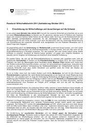 Russland: Wirtschaftsbericht 2011 (Aufdatierung Oktober ... - Osec