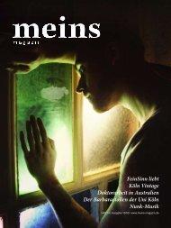 Ausgabe 10/03 - meins magazin