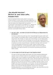 Auswirkungen von Fallpauschalen (DRG) - Implantate Schweiz