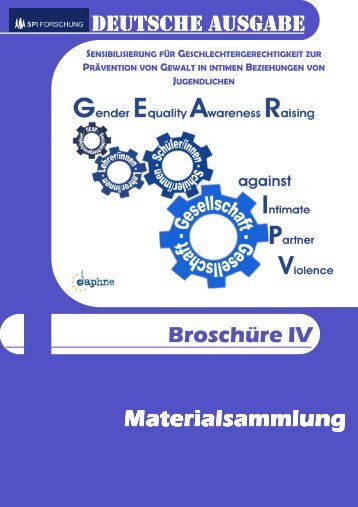 German GEAR against IPV Booklet IV (Students Activities Book)