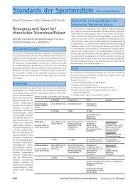 Standards der Sportmedizin Niereninsuffizienz - Deutsche Zeitschrift ...