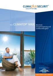 SGG CLIMATOP® MAX Maximale - PfalzGlas