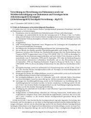 Arbeitslosengeld II/Sozialgeld-Verordnung — Alg II-V