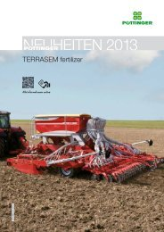 TERRASEM fertilizer - Alois Pöttinger Maschinenfabrik GmbH