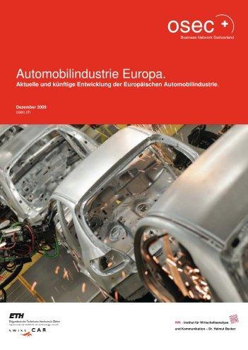 Automobilindustrie Europa. - Osec