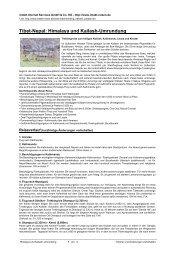 Tibet-Nepal: Himalaya und Kailash-Umrundung - Intakt-Reisen